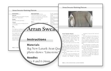 ARAN SWEATER KNITTING PATTERNS | FREE PATTERNS